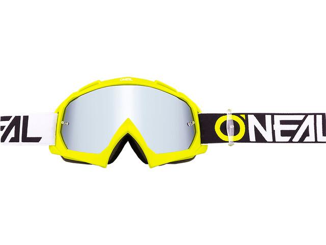 O'Neal B-10 Goggles twoface hi-viz-mirror silver